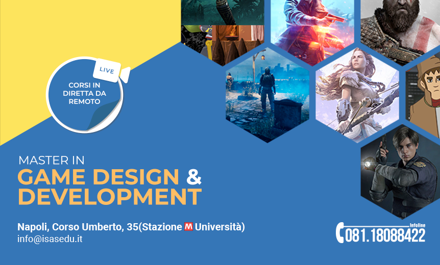 MASTER GAME DESIGN & GAME DEVELOPMENT