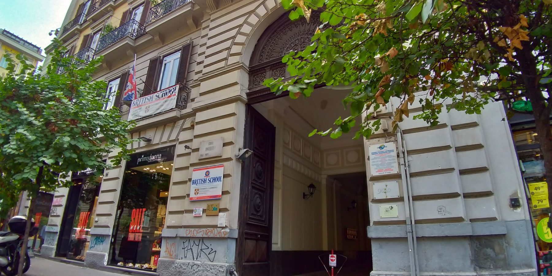 British-Napoli- ISAS Game Academy di Napoli, Corso Umberto I, 35 - Napoli