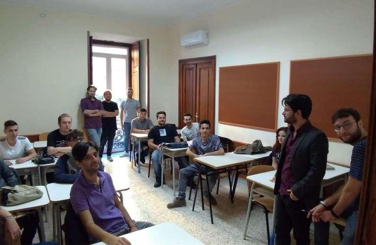 Classe corso ISAS master design videogiochi