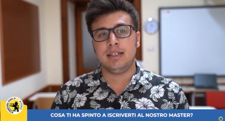 Francesco video intervista studente ISAS